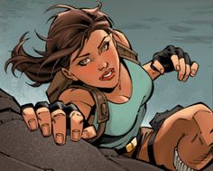 Read my review of Lara Croft & the Frozen Omen #1 - http://archaeologyoftombraider.com/2015/10/15/review-lara-croft-and-the-frozen-omen-1/