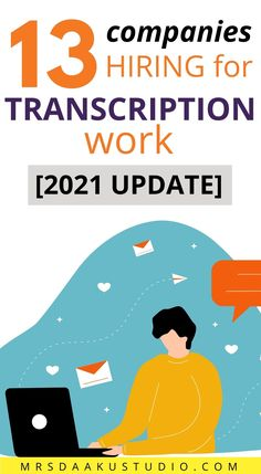 Transcription jobs from home for beginners. Here are over 13 typing jobs from home. If you are an accurate and fast typist, consider these online transcription jobs from home Work From Home Options, Work From Home Careers, Work From Home Companies, Legitimate Work From Home, Work From Home Opportunities, Transcription Training, Transcription Jobs From Home, Typing Jobs From Home, Online Jobs From Home