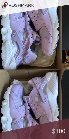 innovative design 0965e a17b0 Nike Huarache Custom ID Size 8 women s lavender purple custom Nike ID  huarache Nike Shoes Sneakers