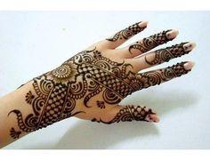 Unique mehndi designs for girls www.uthfashion.com
