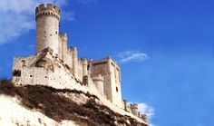 Peñafiel Castle—Valladolid Province, Spain. Did a wine tasting in this castle :)