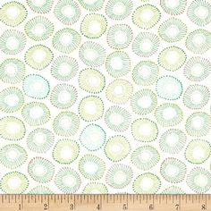 Michael Miller Into The Deep Sea Anemones Tropical from @fabricdotcom  Designed by Patty Sloniger for Michael Miller, this cotton print fabric is perfect for quilting, craft projects, apparel and home decor accents. Colors include shades of green, aqua blue, pink and coral.