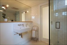 Basement bathroom designed by Arciform's Kristyn Bester.