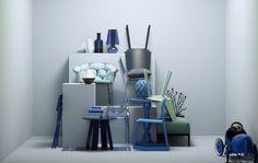 Meeresfarben: Cindy von Kartell | online kaufen im stilwerk shop | ab € 188,- photo: Dirk Dunkelberg, styling: Wolfram Neugebauer