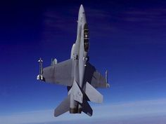 F/A-18 Fighter Going Vertical