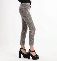Leopard pants (: