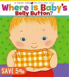Where Is Baby's Belly Button? A Lift-the-Flap Book by Kar. Karen Katz's adorable babies play peekaboo in this delightful interactive book. The sturdy format and easy-to-lift flaps are perfect for parents and children to share. Toddler Books, Childrens Books, Laugh Out Loud Jokes, Board Books For Babies, Baby Books, Free Epub, Baby Eyes, Spa, Thing 1