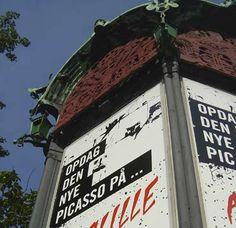 Poster til kunstmessen Artville / grafik: anetmai.com Udarbejdet af grafisk designer Anne Mark Møller