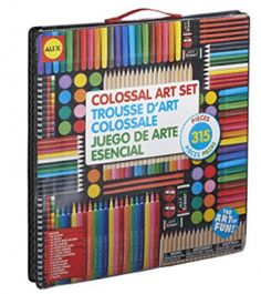 [Toy Storage Ideas] ALEX Toys Artist Studio Colossal Art Set ** To view further for this item, visit the image link. (This is an affiliate link) Art Sets For Kids, Kits For Kids, Types Of Pencils, Colored Pencils, Wholesale Crafts, Alex Toys, Color Crayons, Watercolor Pictures, Drawing Letters