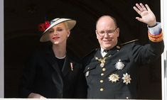 Prince Albert gave a wave with wife Princess Charlene by his side. <br><p>Photo: © Getty Images</p>