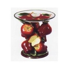 Fruit Themed Decorations, Ideas and Functional Accessories - red apple kitchen decor accessories - Apple Kitchen Decor, Chef Kitchen Decor, Red Kitchen, Kitchen Themes, Kitchen Ideas, Kitchen Stuff, Kitchen Designs, Apple Decorations, Kitchen Decorations