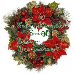 Kartka świąteczna 🎄🎁🎅🌲🎀🎄🎁🎅🌲🎀 Christmas Wreaths, Holiday Decor, Home Decor, Decoration Home, Room Decor, Home Interior Design, Home Decoration, Interior Design