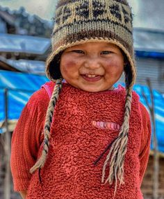 Cutest smile ever seen & Laprak, Nepal. Photo by The post Cutest smile ever seen Laprak, Nepal. Precious Children, Beautiful Children, Beautiful Babies, Kids Around The World, People Of The World, Beautiful Smile, Beautiful People, Cute Kids, Cute Babies
