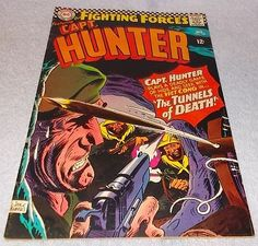 DC Comic Book Our Fighting Forces presents Capt Hunter No 103 Joe Kubert VF...........9.95