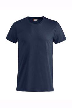 La camiseta Basic-T de hombre de Cliqué es de manga corta y cuello redondo 3001a1a4c09ba