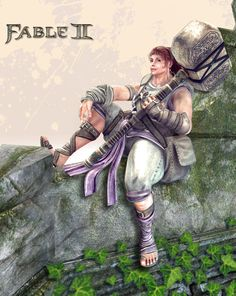 "Sister Hannah ""Hammer"" - Hero of Strength. Voiced by Julia Sawalha Julia Sawalha, Fable Ii, Comic Con Cosplay, Game Art, Dream Catcher, Fantasy Art, Video Games, Comics, Fictional Characters"
