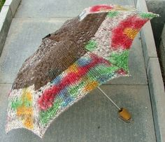 This umbrella may make you welcome rainy days.