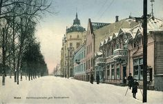 Hovioikeudenpuistikko, around 1917
