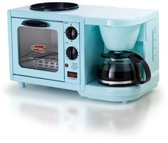 Americana by Elite 3-in-1 Mini Breakfast Shoppe - Blue