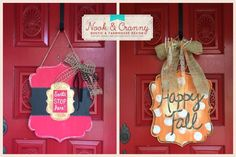 reversible wood signs - Google Search