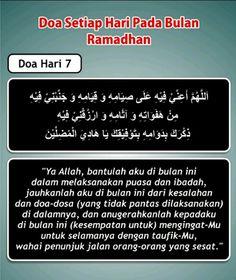 Doa hari 7 Ramadhan Dua For Ramadan, Ramadhan Quotes, Mekkah, Islamic Inspirational Quotes, Doa, Quran, Allah, Muslim, Projects