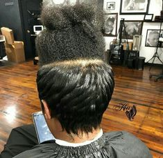 Silk press.... The best thing that happened to natural hair...