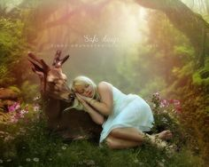 Safe sleep by CindysArt.deviantart.com on @DeviantArt