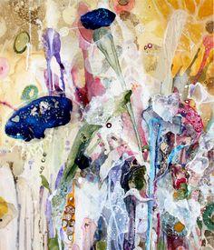 amanda krantz makes  beautiful paintings
