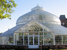 The Kibble Palace glasshouse, situated within the Botanic Gardens in Glasgow, Scotland, is one of the most prestigious iron and glass structures remaining from the Victorian era.