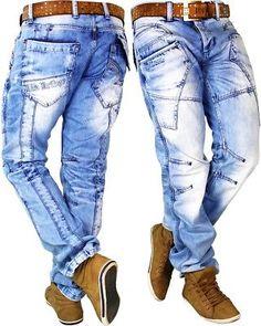 Cipo /& Baxx Men Jeans Casual Pants Slim Fit Denim Black Classic Streetwear Dope