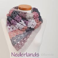 A blog about handmade knitted and crochet accessories, shawls, crochet and knit pattern, DIY tutorials, garden impressions and crafting in the garden.