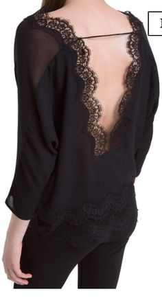Beautiful lace top Elzir ( Sandro Paris)