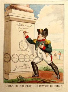 Histoire du Consulat et du Premier Empire - Caricatures