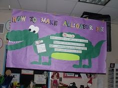 """""""Alligator Pie"""" Activity:  See samples of how this kindergarten teacher uses interactive writing, shared reading, and informative writing (how-to and facts) during her study of zoo animals."""
