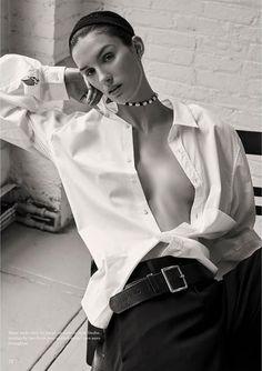 Unconditional Magazine Spring-Summer 2017 Model: Marte Mei van Haaster Photographer: Alexandra Nataf Fashion Editor: Ilona Hamer Makeup
