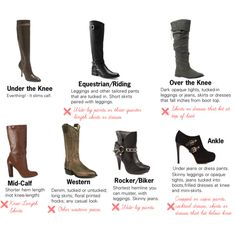 How to wear your boots.