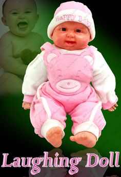 Buy 18 Inch Laughing Doll Child Girl Baby Kid Gift Soft Toy Toys Girl - 21 Online | Best Prices in India: Rediff Shopping