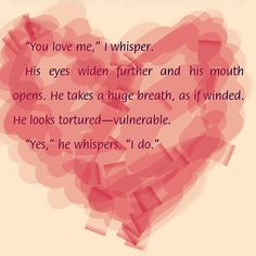 You love me. - Ana  Yes, I do. - Christian Fifty Shades Darker - E. L. James #FiftyShades, #GREYsessed, (pin by me)