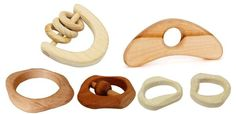 9. Toys. Natural Wood Baby Teething Toys and Rattles. #ecobaby