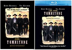 The #WildWest's most famous feud, previously the subject of no less than a dozen movies, gets its definitive screen treatment in this violent, sprawling, and historically accurate telling of the notorious gunfight at the #OkCorral and its bloody aftermath. #Tombstone #BillPaxton, #KurtRussell #ValKilmer #DVD #BluRay #Western