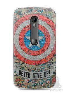 Capa Moto G3 Capitão América Comic Books #3 - SmartCases - Acessórios para celulares e tablets :)
