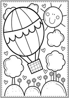 Coloring Club — From the Pond Color-Dream-high. Summer Coloring Pages, Cute Coloring Pages, Animal Coloring Pages, Printable Coloring Pages, Coloring Pages For Kids, Free Coloring, Coloring Books, Fairy Coloring, Art Drawings For Kids