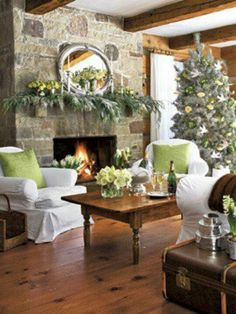 Love the floors and fireplace