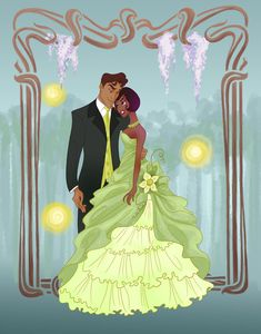 Prom Night: Tiana and Prince Naveen