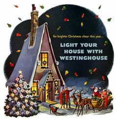 Westinghouse Christmas Lights, Florian Kraner (1950)