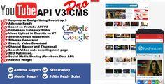 Youtube API V3 CMS PRO