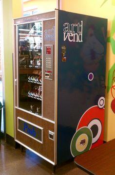 ArtVend: a vending machine full of art projects/kits. So jealous!