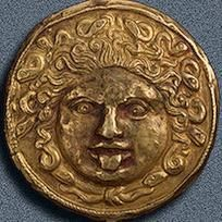 Scythian gold Medusa, 4th Century BC