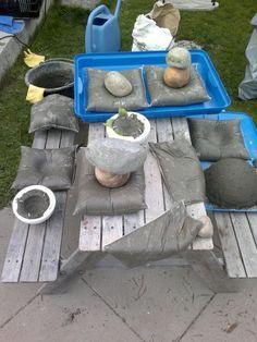 beton kissen: