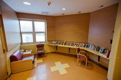 JFK Alcohol & Drug Treatment Center-Nurse Station Acoustical Treatment - Asheville, NC. - Alexander Design Studio, PC
